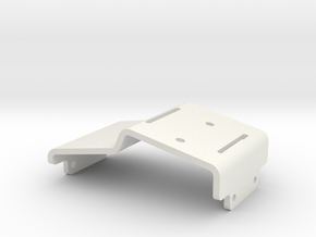 JaBird RC Forward Motor Electronics Tray in White Natural Versatile Plastic
