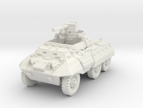 M20 Command Car Late (MG) 1/72 in White Natural Versatile Plastic
