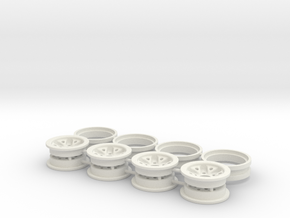 Beadlock Typ2 1.0 SCX24 Micro Crawler Scaler in White Natural Versatile Plastic