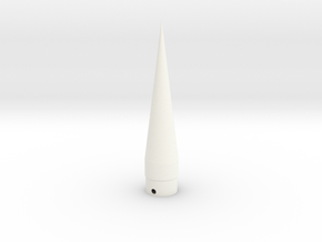 WAC Corporal Cone BT-20 in White Strong & Flexible Polished