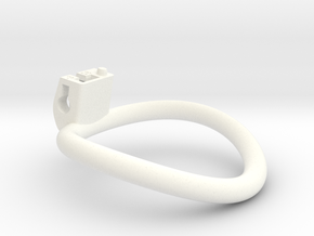 Cherry Keeper Ring - 58mm -3° in White Processed Versatile Plastic