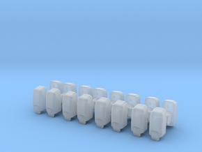 Hand Sanitizer Dispenser (x16) 1/48 in Smooth Fine Detail Plastic