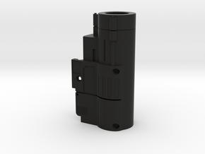 M9 Albert Wesker Rail Flashlight in Black Natural Versatile Plastic