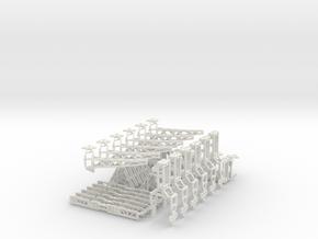 Hexapoddy-shapeways 17 in White Natural Versatile Plastic