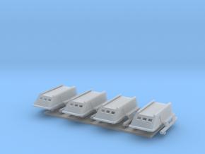 1/537 TOS Shuttlecraft w/ Landing Gear in Smooth Fine Detail Plastic