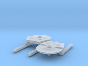 Miranda Class (TOS) 1/4800 Attack Wing x2 in Smooth Fine Detail Plastic