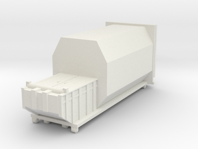 Waste Compactor 1/56 in White Natural Versatile Plastic