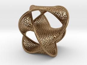 Borrometal (fine hexagonal mesh) in Natural Brass