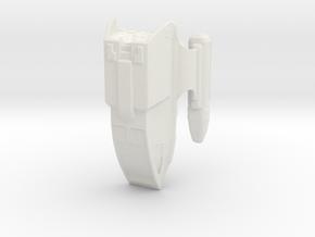 Type 8 shuttlecraft in White Natural Versatile Plastic