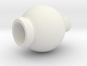 react_ball in White Natural Versatile Plastic