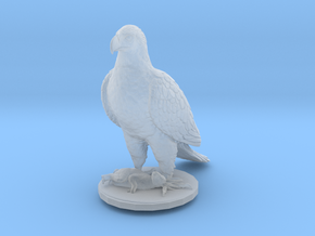 S Scale Eagle & Rabbit in Smooth Fine Detail Plastic