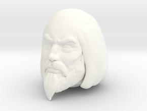 King Miro Head VINTAGE in White Processed Versatile Plastic
