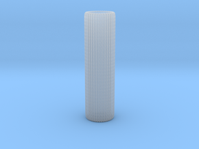 Spanish Tile Roof Texture Roller N Scale in Smooth Fine Detail Plastic