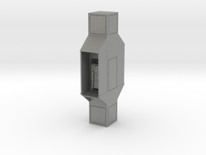 Telephone Booth 01.1:24 Scale in Gray PA12