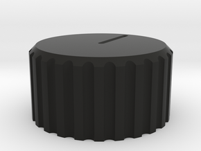 Blackout mirror cover knob for '16 up Tacoma in Black Premium Versatile Plastic