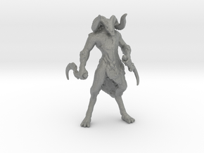 Castlevania Dark Faun 42mm miniature fantasy games in Gray PA12