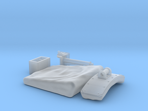 1:16 King/Jagdtiger Funker seat (stowed) in Smooth Fine Detail Plastic