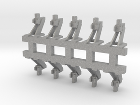 O Scale Hayes Wheel Stop in Aluminum