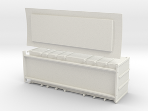 F1 - Swedish luggage van in White Natural Versatile Plastic