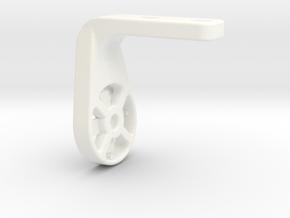 Shimano PRO Saddle Varia Mount in White Processed Versatile Plastic: Small