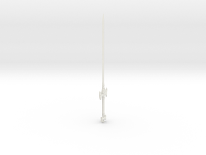 1:144 scale model Elegant Long Sword in White Natural Versatile Plastic