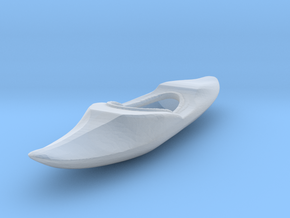 HO Scale Kayak in Smooth Fine Detail Plastic