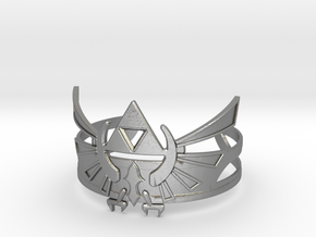 Zelda Bracelet in Natural Silver