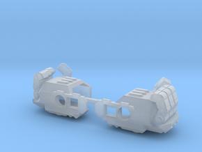 Tau Gantlet  in Smooth Fine Detail Plastic
