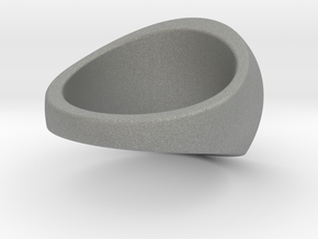 Custom Signet ring 101 in Gray PA12