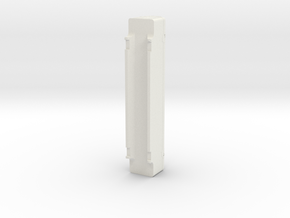 A-Stack Container - Fiberglass Version in White Natural Versatile Plastic: 1:87 - HO