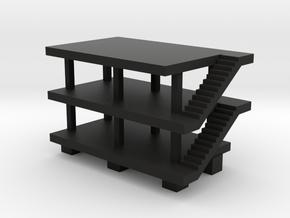 Domino House Black in Black Premium Versatile Plastic