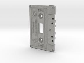 Cassette Light Switch Plate in Metallic Plastic