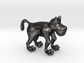 Dog in Polished Grey Steel