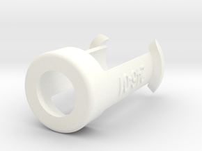 Pen holder for Pen Plotter in White Processed Versatile Plastic