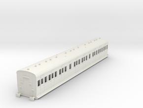 o-87-sr-lswr-d287-pushpull-trailer-coach-1 in White Natural Versatile Plastic