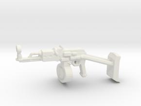 AK47 DISC v3 in White Natural Versatile Plastic