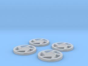Explorer Rims (Set of 4) in Smooth Fine Detail Plastic