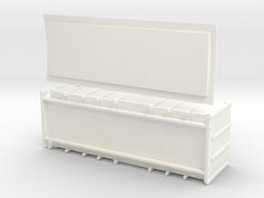 F1 - Swedish luggage van in White Processed Versatile Plastic