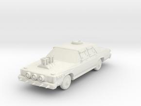 Wasteland Wars Classic Sedan in White Natural Versatile Plastic