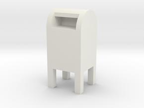 USPS Mailbox 1/8 in White Natural Versatile Plastic