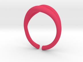 mouth-ring size 6 in Pink Processed Versatile Plastic: 6 / 51.5