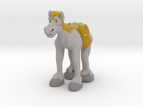 Pack Horse in Full Color Sandstone