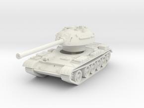 T-54-3 Mod. 1951 1/87 in White Natural Versatile Plastic