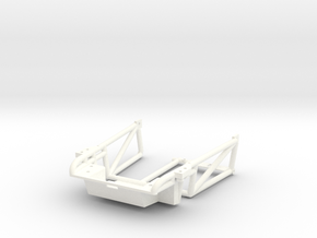 FA20002 Sand Rail Chassis Front in White Strong & Flexible Polished