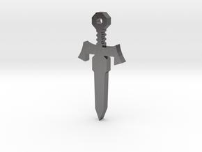 Commander Sword in Polished Nickel Steel