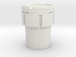 Hazmat Salvage Drum 1/56 in White Natural Versatile Plastic