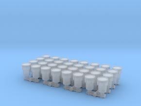 Hazmat Salvage Drum (x32) 1/220 in Smooth Fine Detail Plastic