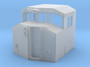 HO Scale M630W Cab BCOL in Smooth Fine Detail Plastic