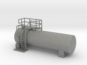 N Scale Diesel Storage Tank v3 (FUD) in Gray PA12