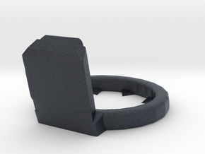 40mm 8x4 Retainer in Black PA12
